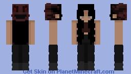 creepy Minecraft Skin