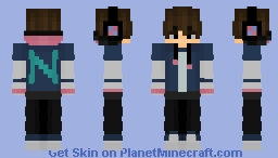 I remade my friends skin!! Hope he likes it... 😐 Minecraft Skin