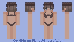louis vuitton bikini Minecraft Skin