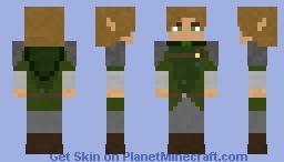 Woodelf (Slim version) Minecraft Skin