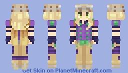 Gyro Zeppeli from Dat HoHo's Dope Odyssey Minecraft Skin