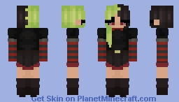 // Shes a lime // Minecraft Skin