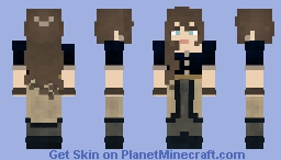 𝔹𝕝𝕦𝕖 𝔸𝕟𝕒 || 𝕃𝕆𝕋ℂ Minecraft Skin