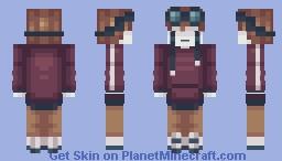 Simple Sad Expression ~ PCE Minecraft Skin