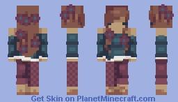 - Tired Rose - CE Minecraft Skin