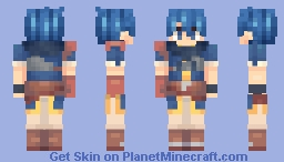 Kris, Unknown Hero - Fire Emblem: New Mystery of the Emblem Minecraft Skin