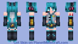 | Hatsune Miku | ~* Marma *~ Minecraft Skin