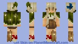 harmony - spellbound garden Minecraft Skin