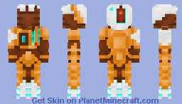 Dominium Ta'u Fire Warrior (Warhammer40k) Minecraft Skin