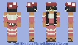 the mushroom seller Minecraft Skin