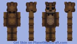 Five Nights at Freddy's: Freddy Suit Minecraft Skin