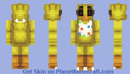 Five Nights at Freddy's: Chica Suit Minecraft Skin