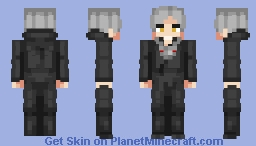 Geralt of rivia - Samurai Robes (Nioh) blend Minecraft Skin