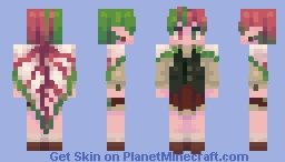patches of caladiums Minecraft Skin