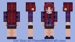 Purple Minecraft Skin