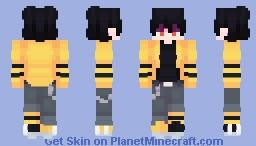 { 𝕐𝕖𝕝𝕝𝕠𝕨 𝕁𝕒𝕔𝕜𝕖𝕥 } Minecraft Skin