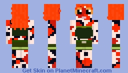 Spirit of the Koi Pond Minecraft Skin