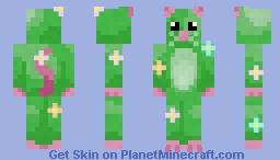 Flowery Garden Mouse Minecraft Skin