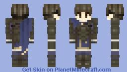 Berkut, Prideful Prince - Fire Emblem Echoes: Shadows of Valentia Minecraft Skin