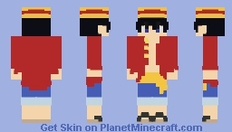 i'm gonna be king of the pirates Minecraft Skin