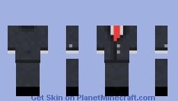 smoking/esmoquin overlay Minecraft Skin