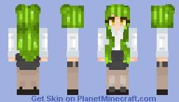 your hot teacher Minecraft Skin