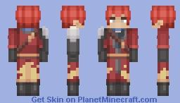 Welf Crozzo - DanMachi / Request Minecraft Skin
