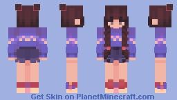 retro future Minecraft Skin