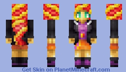 Sunset Shimmer Minecraft Skin