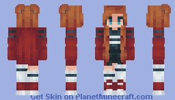 ៚Skin trade with Melanie! ೃ࿔↷ Minecraft Skin