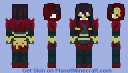 L̶̢̥̀͠ű̴̼n̸͖̼͋a̴̭̚r̶̼͌̈ ̶͈̦͐G̵̛̹͓ļ̶̰̆͝i̵̛̱͠ť̴͝ͅc̶͓͎̓̈h̶͇̹͊̚ || LoL || Spirit Blossom Kindred - Lamb (Obsidian Chroma) Minecraft Skin