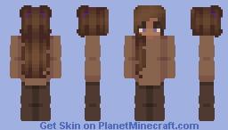 ~Peanut Butter~ Minecraft Skin