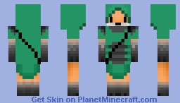 Archer Fox ~ request Minecraft Skin