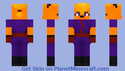 F.A.S.T. - Alice the Fox (Parovoz animation studio) Minecraft Skin