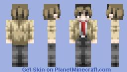Death Note- Light Yagami ~DIVINE THIRST~ Minecraft Skin