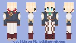Violet Evergarden Minecraft Skin