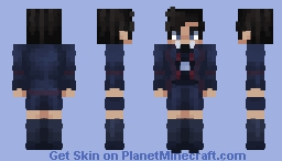 Number Five | Umbrella Academy Minecraft Skin
