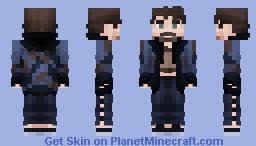 Klaus Hargreeves | Umbrella Academy Minecraft Skin