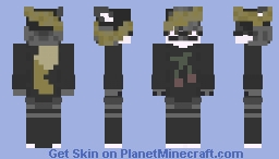 Color Drained Minecraft Skin