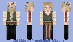 Conspicuous Maid Minecraft Skin
