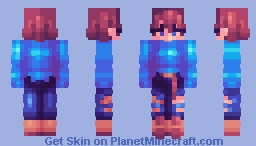 Beyond the Night Sky Minecraft Skin
