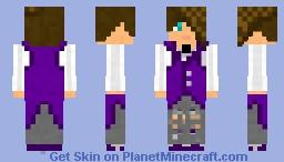 Quicksilver (64x64, double-layered hair) Minecraft Skin