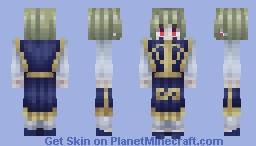 Kurapika Minecraft Skin