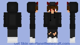 Demon Boy Minecraft Skin