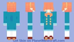 Orange Juice | FLORPUS Minecraft Skin