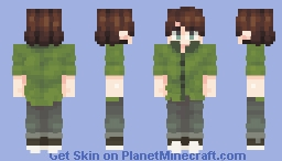 tubbo moment (best in 3d) Minecraft Skin