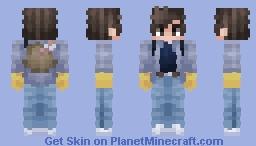 Steve Harrington   Stranger Things   Season 2 Minecraft Skin