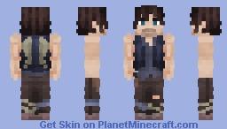 Daryl Dixon | The Walking Dead Minecraft Skin