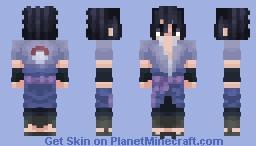 Sasuke Uchiha   Naruto Shippuden Minecraft Skin