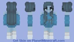 icy depression Minecraft Skin